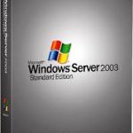 windows server 2003 support ophører